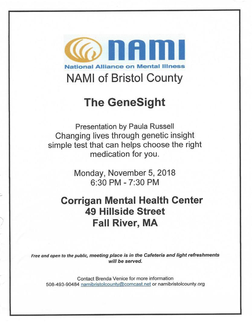 NAMI Bristol County MA ,INC - News